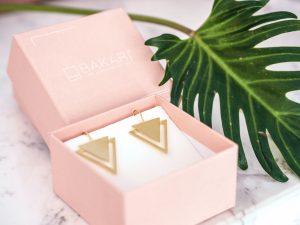 Bakari Golden Triangle Earrings