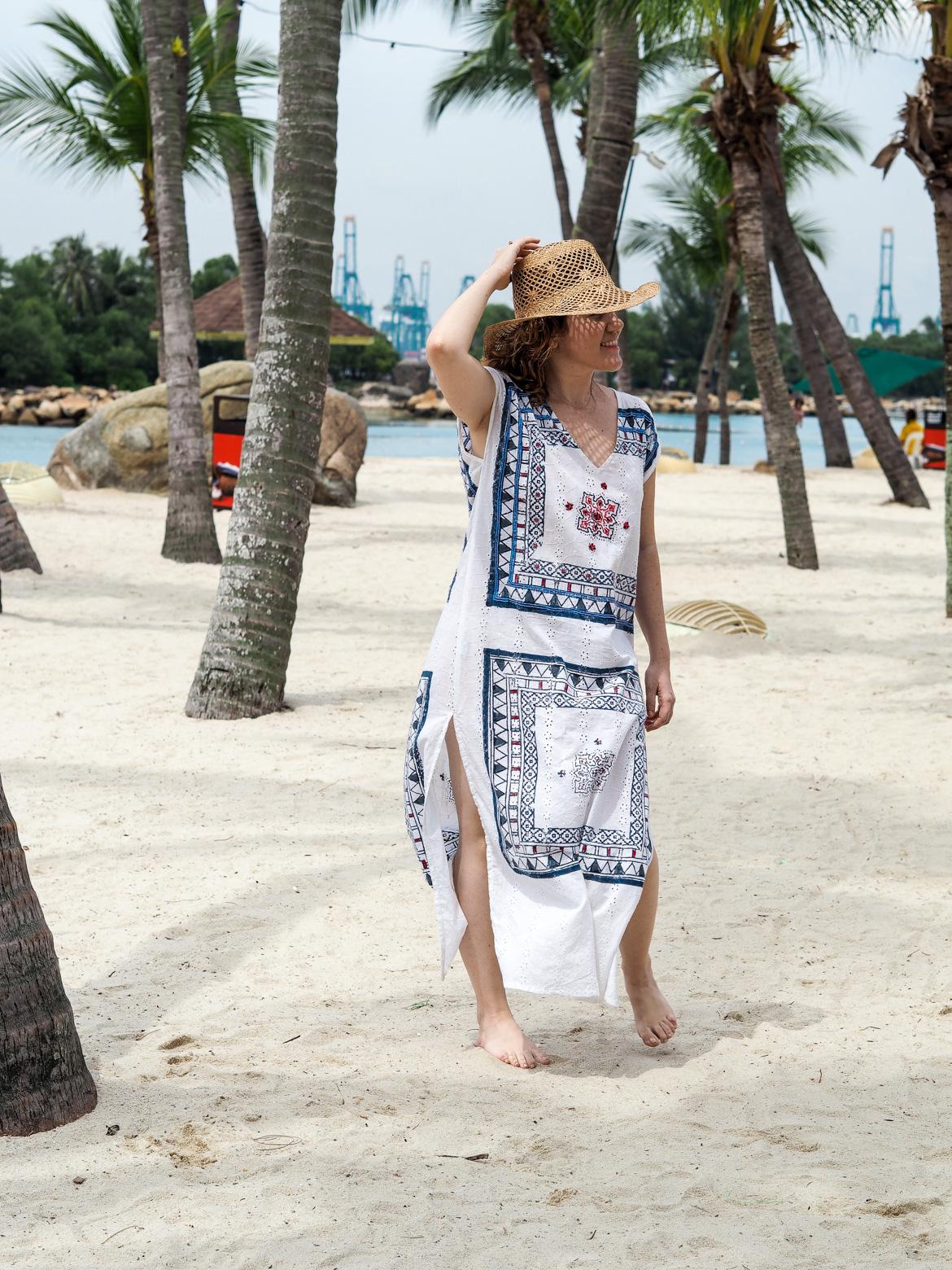 Baliza Ethical Kaftan Dress