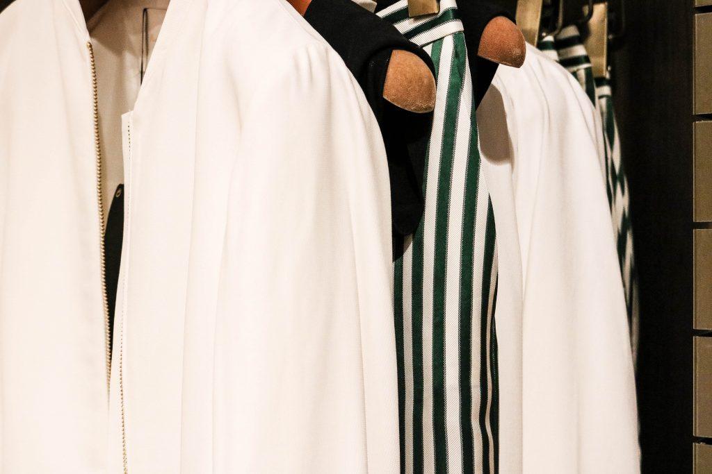 Massimo Dutti clothing rack
