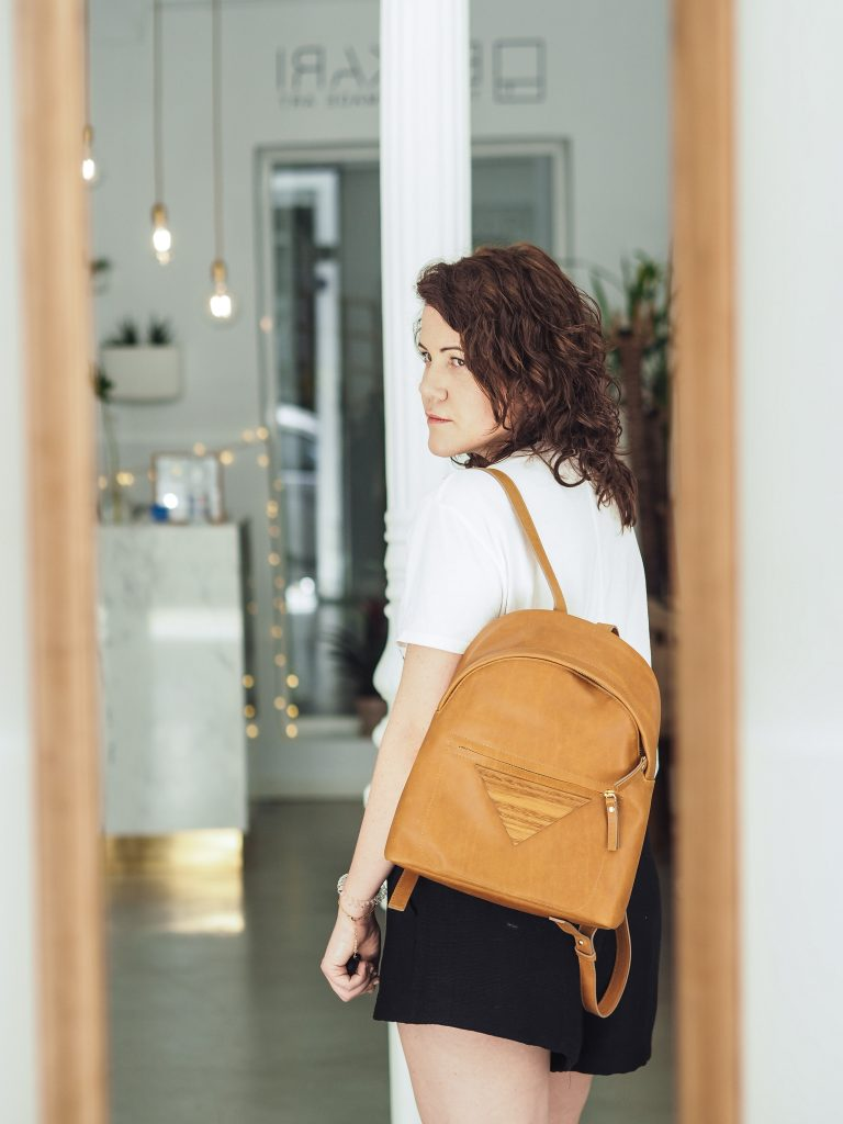 Bakari Leather Backpack
